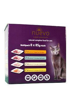 Nuevo kočka kapsa Adult Multipack 8x85g