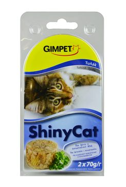 Gimpet kočka konz. ShinyCat tuňak 2x70g
