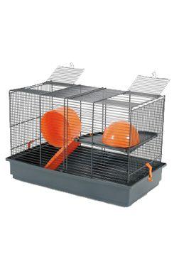 Klec křeček INDOOR 50cm oranž s výbavou Zolux