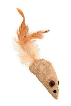 Hračka kočka myš 9cm textil Zolux