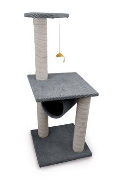 Škrábadlo ARGI -Lucy 100x40cm šedé 1ks