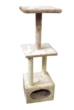 Škrábadlo Electra pískové 31x31x94 cm