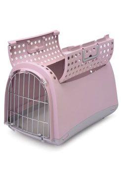 Přepravka pro kočky a psy Cabrio Růžová Argi 3ks