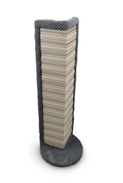 Škrábadlo ARGI rohové 60x20cm šedé 1ks