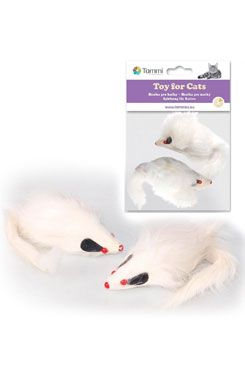 Hračka kočka Myš velká 9cm/2ks
