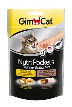 GIMCAT Nutri Pockets Taurine-Beauty MIX 150g