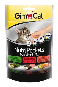 GIMCAT Nutri Pockets malt+vitamin.mix 150g