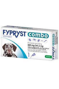 Fypryst combo spot-on 268/241,2mg pes velký 1 pip