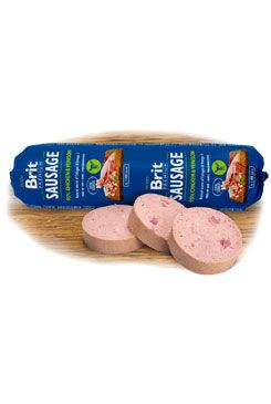 Brit Sausage Chicken & Venison 800g New