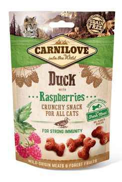 Carnilove Cat Crunchy Snack Duck&Raspberries 50g
