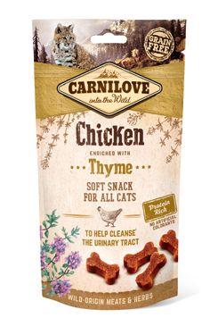 Carnilove Cat Semi Moist Snack Chicken&Thyme 50g