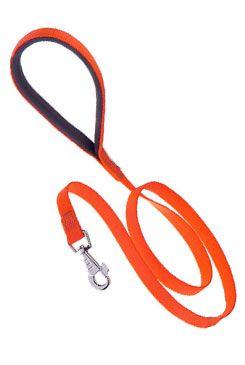 Vodítko nylon DAYTONA G-Ploché 120/15 oranžové FP 1ks
