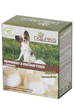 NATURECA Bonbóny z ovčího tuku s česnekem Mini 250g
