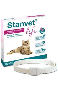 Stanvet Life Obojek Antiparazitární pro Kočky 37cm
